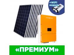 """Комплект СЭС Премиум"""" инвертор LPM-SIW-30kW + солнечные панели (WiFi)"""""""