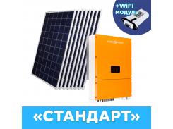 "Комплект СЭС Стандарт"" инвертор LPM-SIW-30kW + солнечные панели (WiFi)"""