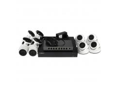 Комплект видеонаблюдения Green Vision GV-IP-K-L28/08 1080P