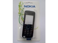 Корпус Nokia 5220Blue+ клавиатура ААА класс