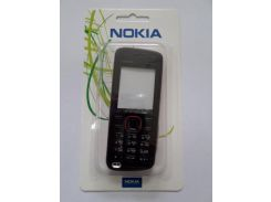 Корпус Nokia 5220 Red+ клавиатура ААА класс