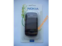 Корпус Nokia C2-03Black + клавиатура ААА класс
