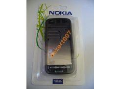 Корпус Nokia 5228Black + клавиатура ААА класс
