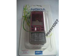 Корпус Nokia 6300 Red+ клавиатура ААА класс