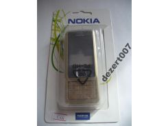 Корпус Nokia 6300 Gold+ клавиатура ААА класс