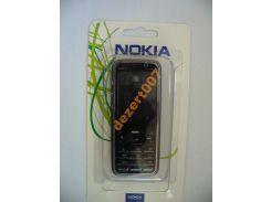 Корпус Nokia 5630Black+ клавиатура ААА класс