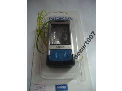 Корпус Nokia 6500s Silver+ клавиатура ААА класс