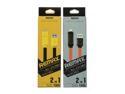 USB Remax RC-27T Bamboo Lightning / Micro