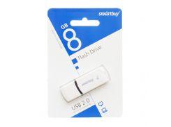 USB Flash Drive Smartbuy 8gb Белый