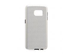 Задняя Накладка GINZZU Carbon X1 For Samsung S7 Стальной