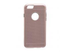 Задняя Накладка GINZZU Carbon X1 For Apple Iphone 6G Розовый