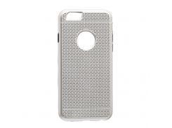 Задняя Накладка GINZZU Carbon X1 For Apple Iphone 6G Стальной