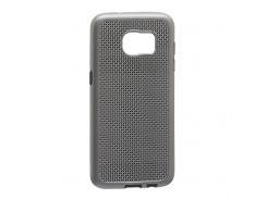 Задняя Накладка GINZZU Carbon X1 For Samsung S7 Edge Серый