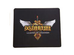 Коврик для мышки Q7 35*30*0.3 League of Legends logo