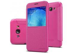 Чехол Nillkin Sparkle для Samsung A8 A800 Розовый