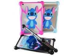 Чехол универсальный силиконовый для планшетов Stitch Синий
