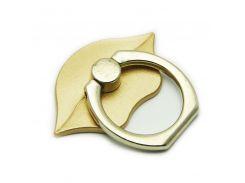 Кольцо держатель ZQGK Губы для телефона Золотой