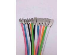 Кабель USB Fashion Metal IG-D194 Lightning голубой