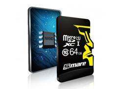 Карта памяти Smare RX MicroSD 64GB Class 10