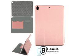 Чехол-книжка Baseus Premium Edge Apple iPad mini, mini2, mini3 розово-золотистый