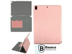 Чехол-книжка Baseus Premium Edge Apple iPad 5, iPad Air розово-золотистый