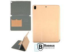 Чехол-книжка Baseus Premium Edge Apple iPad 5, iPad Air золотистый