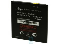 Аккумулятор Fly BL3807 2000 mAh IQ454 Evo Tech 1 AAAA/Original тех.пакет