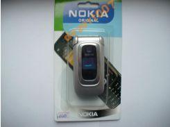 Корпус Nokia 6085 Silver+ клавиатура ААА класс