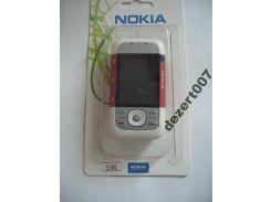 Корпус Nokia 5300 Red+ клавиатура ААА класс