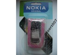 Корпус Nokia 6131 РОЗОВЫЙ+ клавиатура ААА класс