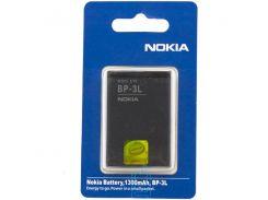 Аккумулятор Nokia BP-3L 1300 mAh 603, 303, 505 AAA класс блистер