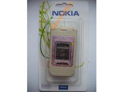 Корпус Nokia 7390 Pink+ клавиатура ААА класс