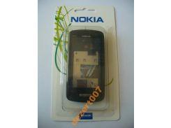 Корпус Nokia C6-01Black + клавиатура ААА класс