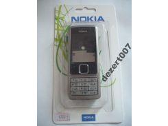 Корпус Nokia 6300 Silver+ клавиатура ААА класс