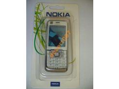 Корпус Nokia 6120 White+ клавиатура ААА класс