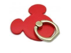 Кольцо держатель ZQGK Miki Maus для телефона Красный