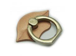 Кольцо держатель ZQGK Губы для телефона Бронзовый