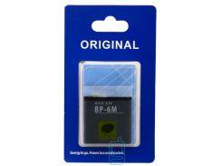 Аккумулятор Nokia BP-6M 1100 mAh 3250, 6151, 6233 AAA класс блистер