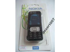 Корпус Nokia 6120 Black + клавиатура ААА класс