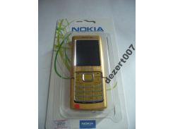Корпус Nokia 6500 Gold+ клавиатура ААА класс
