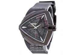 Элитные мужские часы Hamilton Ventura Automatic All Black (механические)