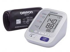 Тонометр OMRON M3 Comfort (HEM-7134-E) с уникальной манжетой Intelli Wrap