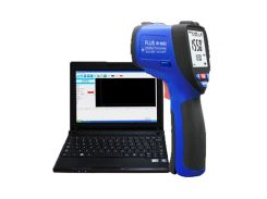 Пирометр FLUS IR-861U (-50…+1150 oC; EMS 0,1-1,0) ПО, Кейс (50:1) Цена с НДС