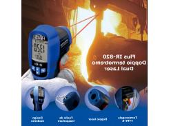 Пирометр FLUS IR-820 ( SRF720 ) (-30…+500 С) с термопарой К-типа (-50°C до +1370°C) 13:1