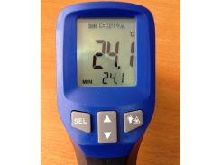 Пирометр Flus IR-827 (-30-550 °C) EMS 0,1-1,0; DS: 12:1 Цена с НДС