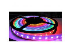 Светодиодные ленты RGB SMD 5050 60 d/m, RGB RW 1LED IP65 WS2812b PIXEL STRIP