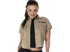 Женская винтажная рубашка в стиле милитари Rothco.