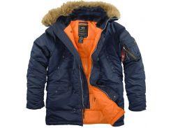 Оригинальные куртка аляска Slim Fit N-3B Parka от Alpha Industries