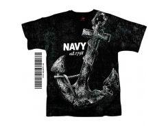 Футболки Rothco Vintage ВМФ США NAVY Est.1798 Anchor Print