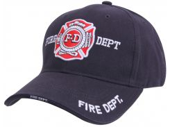 Кепка бейсболка пожарника Rothco Deluxe Fire Department